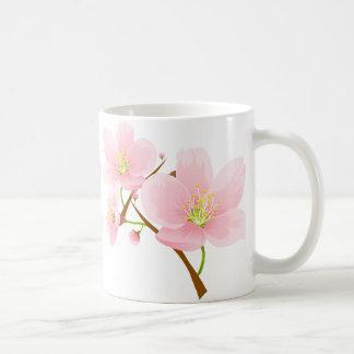 Trio of Cherry Blossoms Mugs