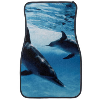 Trio of Dolphins Car Mat