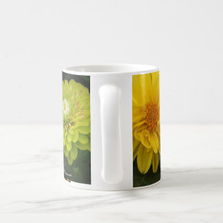 Trio of Florals Classic White Coffee Mug