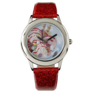 Trio of Ice Cream and Sweet Sundae Wristwatch