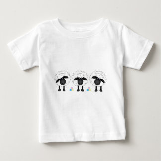 Trio Of Sheep Baby T-Shirt
