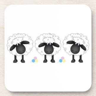 Trio Of Sheep Coasters