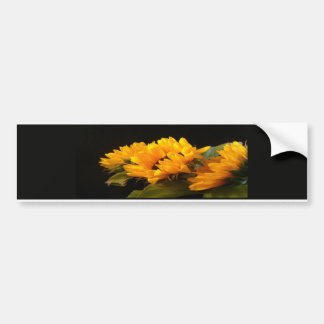 Trio of Sunflowers Bumper Sticker