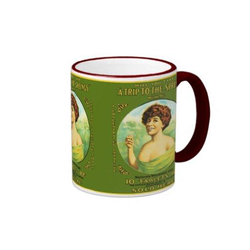 Trip To The Springs Coffee Mugs
