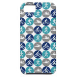 TriPhone (teal/navy/grey) iPhone 5 Cases
