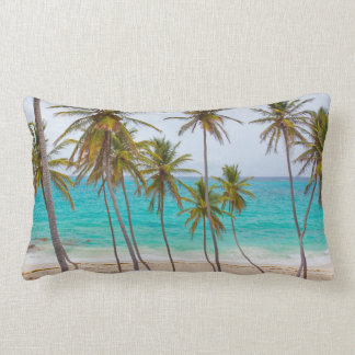 Tripical Beach Palm Trees Pillow