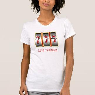 Triple 777 Las Vegas Fun Ladies Casual Scoop T Shirt