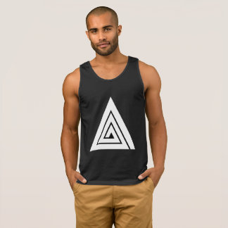 Triple A Black Tank Top