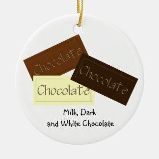 Triple Chocolate Christmas Ornament