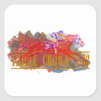 Triple Crown 2013 Square Sticker