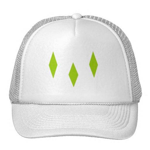 Triple Diamnds Mesh Hat
