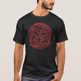 Triple Dragon by Jake Powning T-Shirt