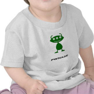 Triple Eye pwnage green Tees