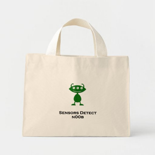 Triple Eye sensors detect n00b green Bags