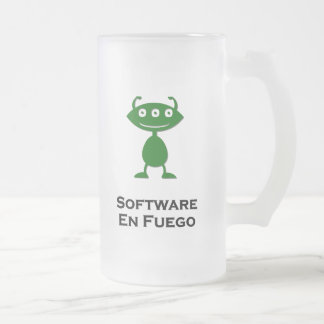 Triple Eye Software En Fuego green Coffee Mugs