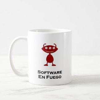 Triple Eye Software En Fuego red Coffee Mug