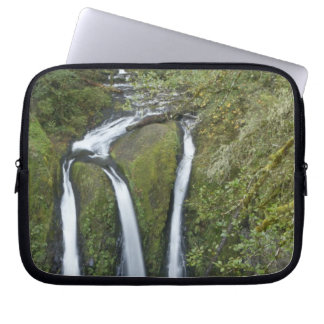 Triple Falls, Columbia River Gorge Laptop Sleeve