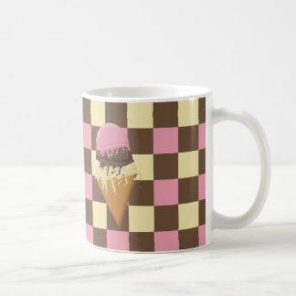Triple-Flavor Ice Cream Cone Mugs