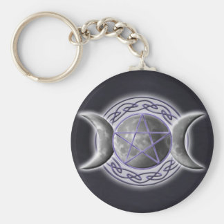 Triple Goddess 2 Key Ring