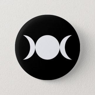 Triple Goddess 6 Cm Round Badge