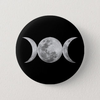 Triple Goddess 6 Cm Round Badge