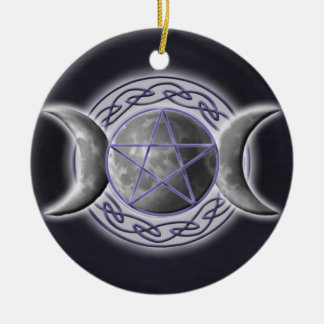 Triple Goddess Christmas Ornament