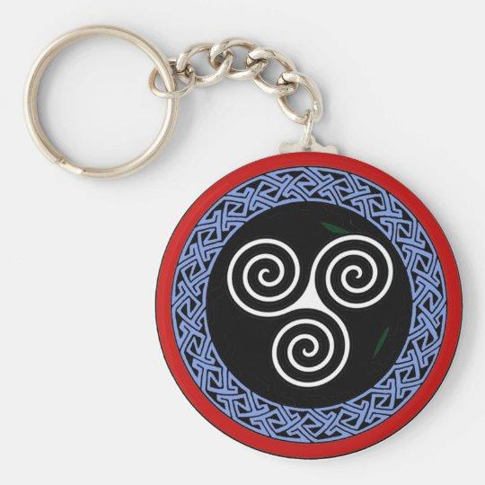 Triple Goddess Key Ring