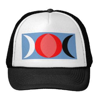 Triple Goddess symbol Cap
