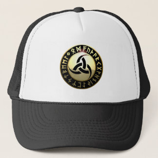 Triple Horn of Odin Trucker Hat