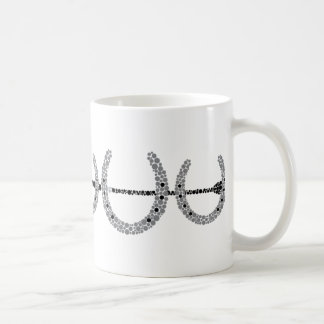 Triple Horse Shoe Coffee Mug