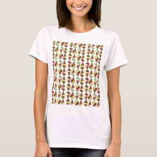 triple icecream pattern T-Shirt