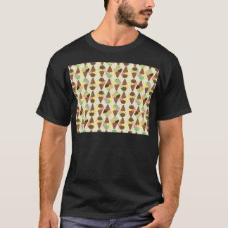 triple icecream pattern T-Shirt
