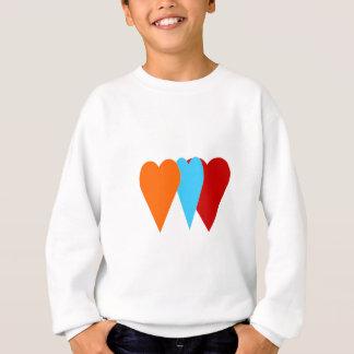 Triple Love Heart Sweatshirt