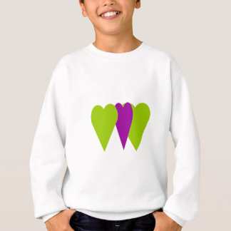 Triple Love Heart Sweatshirt