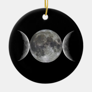Triple Moon Goddess Christmas Ornament