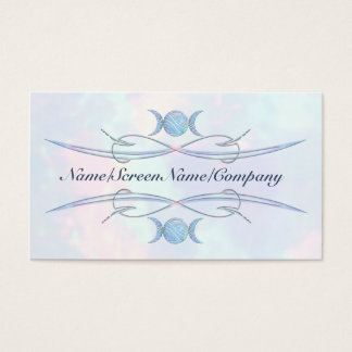 Triple Moon Opal Business Card
