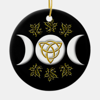 Triple Moon & Tri-Quatra #1 Christmas Ornament