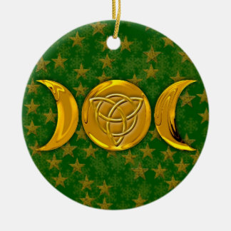 Triple Moon & Tri-Quatra #3 Christmas Ornament