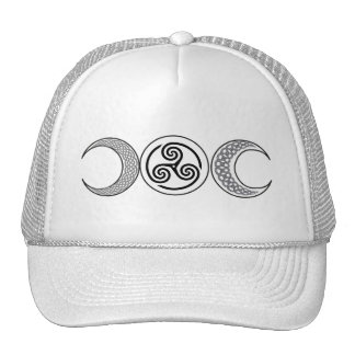 Triple Moon Trucker Hat