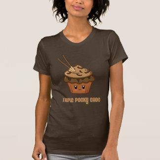 triple pocky choc tee shirt