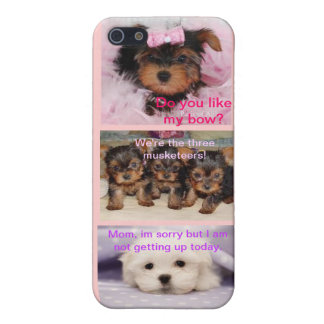 Triple Puppy iPhone5 Case iPhone 5/5S Case