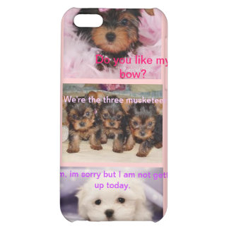 Triple Puppy iPhone5 Case Case For iPhone 5C