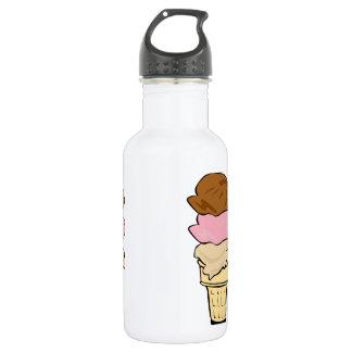 Triple Scoop Cone 532 Ml Water Bottle