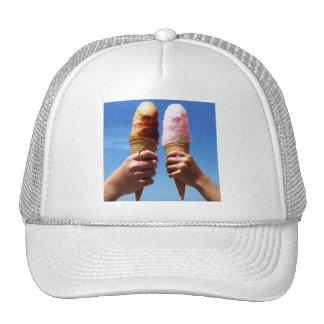 Triple Scoop Ice Cream Cones Hat