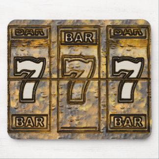 Triple Sevens Slot Machine Reels Mouse Pad