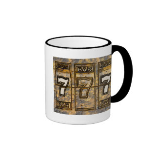 Triple Sevens Slot Machine Reels Ringer Mug