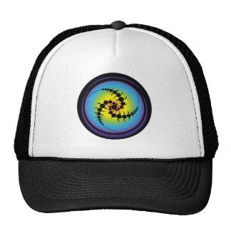 Triple Spiral Crop Circle Cap