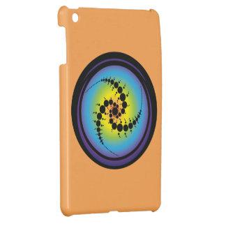 Triple Spiral Crop Circle iPad Mini Cases