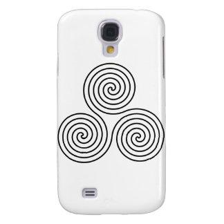 Triple spiral symbol galaxy s4 cover