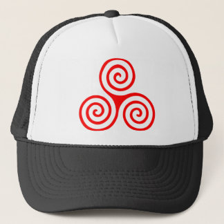 Triple Spiral Trucker Hat